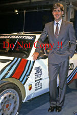 Henri Toivonen Martini Lancia World Rally Championship Portrait Photograph 5