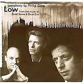 Philip Glass CD Low Symphony From the Music of David Bowie & Brian Eno (New)