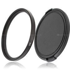 77mm UV Filter & Objektivdeckel lens cap GreenL für 77mm Einschraubanschluss