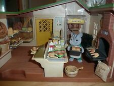 sylvanian families watermill bakery boxed and complete