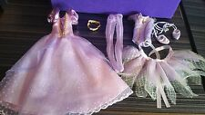 Only Hearts Club  Lot of 2 purple Princess fairy & fairy, doll outfits.