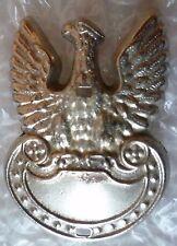 Badge- WW2 Poland Polish Eagle Cap Badge (WM, Genuine*)