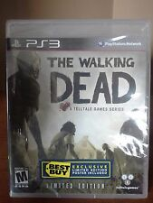 Walking Dead PS3 LIMITED EDITION! W/ RARE POSTER! FIGHT ZOMBIES, HUNT, SURVIVAL