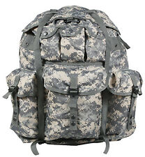 military backpack alice pack acu camo large size aluminum frame rothco 2275