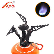 Outdoor Camping Stove Portable Pocket Gas Burner Best Mini Camping Equipment APG