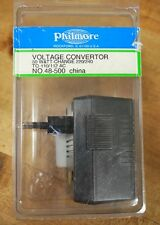 Philmore 48-500 Voltage Convertor 50W-Change 220/240 to 110/112AC - NEW