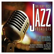 3 CD BOX VERY BEST JAZZ VOCALISTS BENNETT HOLDAY COLE SIMONE ARMSTRONG LEE etc