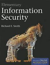 Elementary Information Security (TP) Richard E. Smith