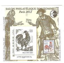 BLOC CNEP N° 62 SALON D'AUTOMNE PARIS  2012
