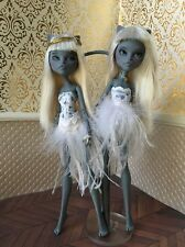 OOAK Monster High Cat Pair Twins Repaint Doll Set By Frankie Nadine