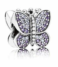 Pandora Charm Sparkling Butterfly Sterling Silver Zirconias 791257ACZ Bead