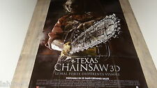 massacre a la tronconneuse TEXAS CHAINSAW 3D  !  affiche cinema