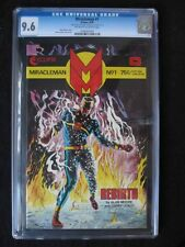 Miracle Man #1 CGC 9.6 NM+ RARE GOLD VARIANT! Only 400 MADE Signed by Alan Moore