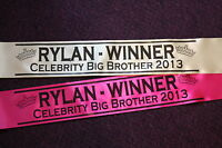 PERSONALISED SASH FOR ANY OCCASION- HEN / PARTY / BIRTHDAY / PAGEANT / PROMOTION