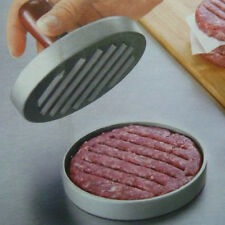 Kitchen DIY Hamburger Press Meat Patty Mold Maker Metal Machine 12cm/4.8inch New