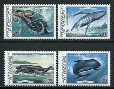 DOMINICA 1983 Wale Whales Meerestiere 805-808 ** MNH