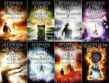 8 Audiobooks - The Dark Tower Complete Series b. Stephen King Unabridge Mp3