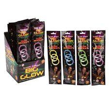 """Glow Sticks Bracelets Necklaces Neon Colours Party Favors Rave Disco 3"""" X 8 """""""