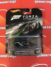 Lamborghini Gallardo LP 570-4 Superleggera 2016 Hot Wheels Forza Retro Case D
