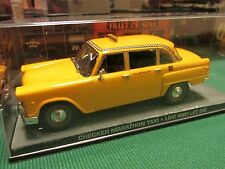 JAMES BOND CARS COLLECTION CHECKER MARATHON TAXI LIVE AND LET DIE