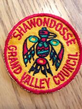 Vintage Boy Scouts Of America Thunderbird Patch Grand Valley Council