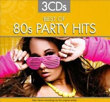 Best of 80s Party Hits [Box] by Various Artists (CD, Sep-2010, 3 Discs, Sonoma E