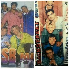 2 BACKSTREETBOYS MUSIC GADGETS: TELO POSTER E PUZZLE COME IN FOTO