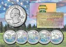 2016 Hologram National Parks America the Beautiful Coins *Set of all 5 Quarters*
