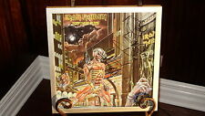 IRON MAIDEN SOMEWHERE IN TIME AUTOGRAPHED / SIGNED PROMO CD / ALBUM FLAT FRAMED!