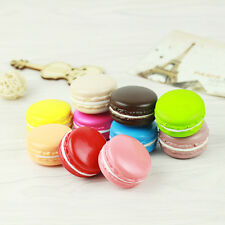 Random Color Soft Dessert Macaron Squishy Cute Cell Phone Charm Pendant AA+