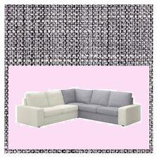 IKEA Kivik Corner Sofa Section Cover Isunda Gray Slipcover NEW Salt-n-Pepper