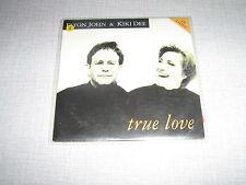 ELTON JOHN KIKI DEE CDS FRANCE TRUE LOVE QUEEN