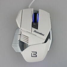 Bazalias 2000DPI 6 Button Adjustable USB Wired Optical Gaming Mouse Game Mice PC