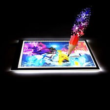 Tracing light Box Board Artist Tattoo A4 Drawing Pad Table Stencil Display LED F