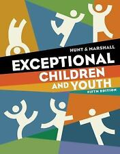 Cengage Advantage Books: Exceptional Children and Youth by Nancy Hunt.