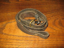 Swedish leather Mauser sling m1896 m96 m38 6.5x55 fair stretched used