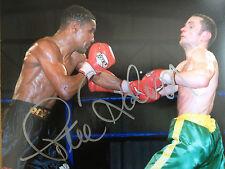 Steve Robinson-ancien champion du monde-couleur signé lutte photographie