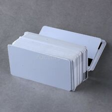 50x Blank PVC Bank Credit Card Magnetic Stripe Card 5IE