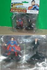 HEROCLIX DCHC - Superman Quick-Start Two Pack Kit (Superman & Lex Luthor)
