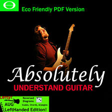 Absolutely Understand Guitar, 32 Hour DVD Guitar Lessons Eco Left Handed Edition