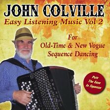 Easy Listening Music Vol 2 for Old Time Dancing CD by John Colville on Accordion