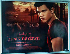 Cinema Poster: TWILIGHT SAGA BREAKING DAWN P1 2011 (Wolf Quad) Taylor Lautner