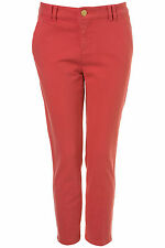 TOPSHOP Moto Raspberry Skinny Jeans 7/8 Leg Crop Denim W28 UK10/EU38/US6 BNWT