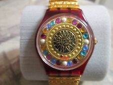 "STUNNING !!! 1994 ""XMAS BY XIAN LAX"" GZ140 SWATCH (#175) FREE SHIP/BATTERY"