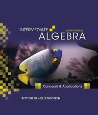Intermediate Algebra: Concepts and Applications (8th Edition) by Ellenbogen, Dav