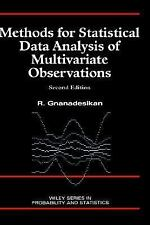 Methods for Statistical Data Analysis of Multivariate Observations, 2n-ExLibrary