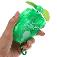 Mini Portable Summer Beach travel Water Spray Cool Mist Sporting Cooling Fan