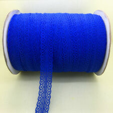 Wholesale~10 Yards Bilateral Handicrafts Embroidered Net Lace Trim Ribbon Crafts