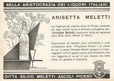 W2900 ANISETTA MELETTI nella aristocrazia dei... - Pubblicità del 1937 - Old ad