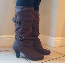 New Look brown boots size 5